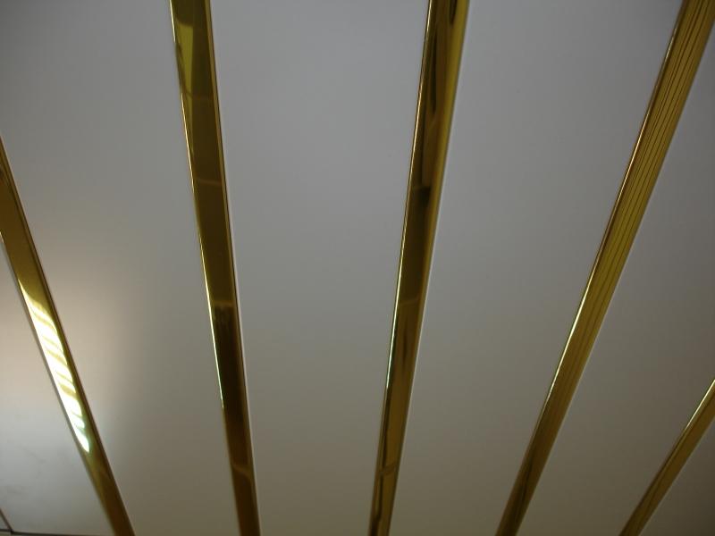 Реечный потолок Белый