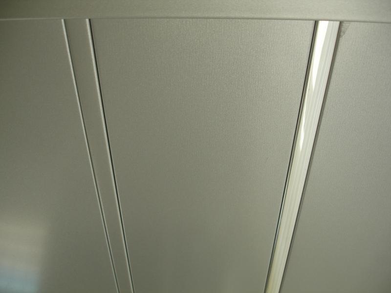 Реечный потолок Металик